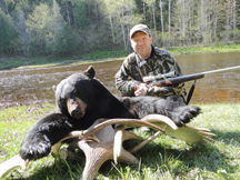 Neil Lozier from Mass tagged the biggest bear of the 2014 season