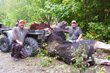 18 pt Bull Moose 54 inch Spread 885 lbs