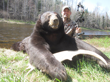 Chris's 2nd bear in the same week!