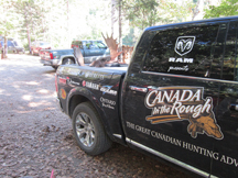 Canada in the Rough Successful Hunt at Taxis River Outfitters