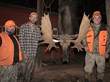 Eric bags a new brunswick moose