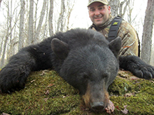 Rush Outdoors prostaff John Lawerence 1st bear hunt at Taxis River Outfitters