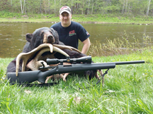 Dale chose Taxis River Outfitters for his first black bear hunting trip