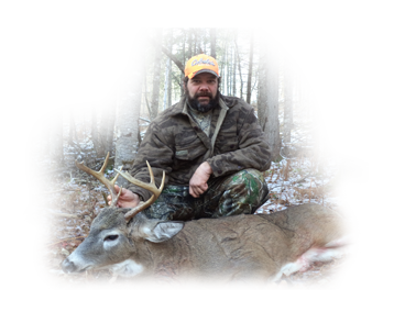 Whitetail buck harvested fall 2015 at Taxis River Outfitters